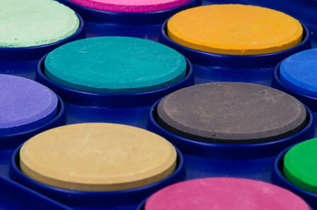 abstract academic: new water-colour supply background Stock Photo