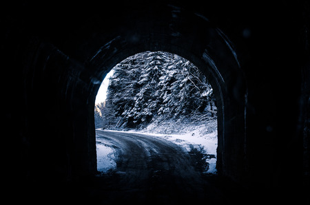 way out: way out from the tunnel