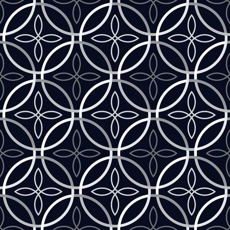 Vector illustration of seamless dark pattern