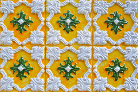 traditional tiles from Portugal photo
