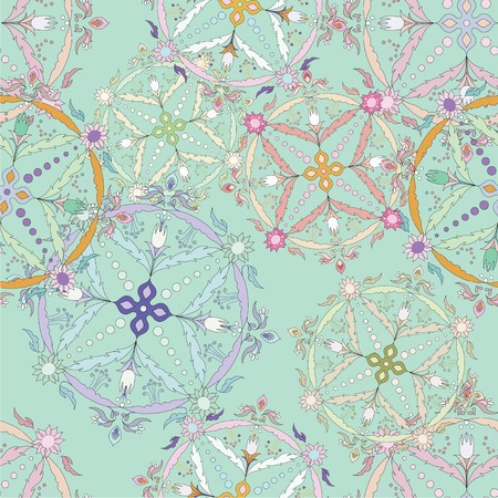 tatting: Perfect graphical seamless pattern. Flower texture made in vector. Unique background for invitations, cards, websites.