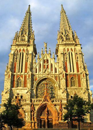 St. Nicholas Roman Catholic Cathedral in Kyiv, Ukraine Stock Photo - 6494648