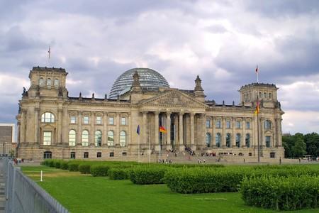The Reichstag building in Berlin, German parliament (Bundestag) photo