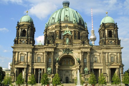 Berlin Cathedral (Berliner Dome) in Berlin, Germany Stock Photo
