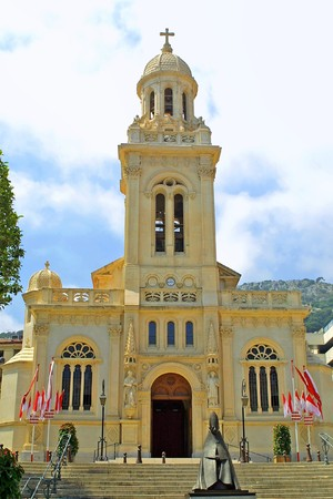 Church of Saint-Charles in Monaco photo