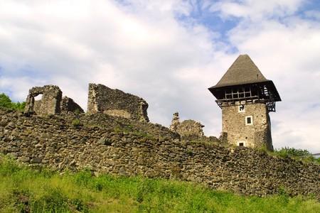 Castle near Uzhgorod, Ukraine photo