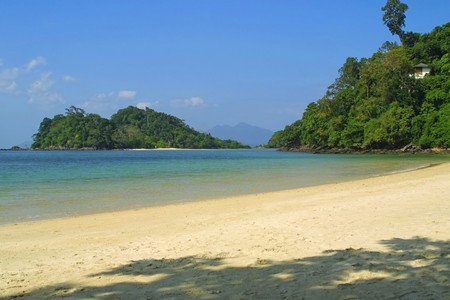 langkawi island: Tropical landscape, Langkawi island, Malaysia
