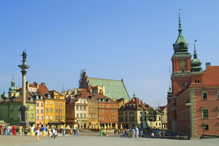 Castle Square, Warsaw, Poland Stock Photo - 7851574