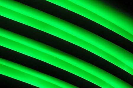 aureola: Green and black diagonal lines