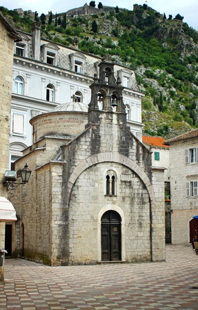 Church of Sveti Luka (Crkva Sv.Luka) in Kotor, Montenegro photo