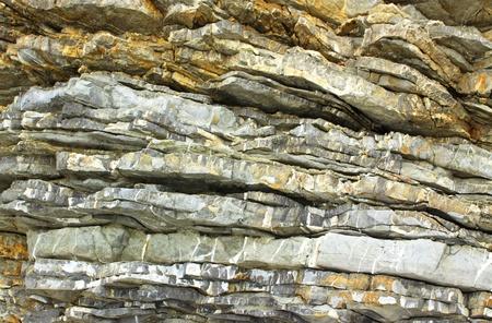 바위의 근접 구호