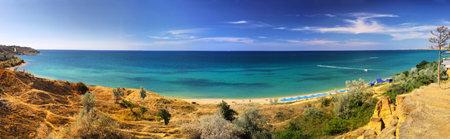 crimean: Summer panoramic landscape of Crimean seacoast, Ukraine
