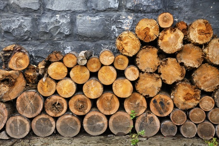 Pile of firewood Stock Photo - 12712930