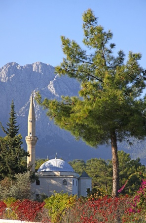 ve: Mustafa Gul ve Esi Cami Mosque in Kemer, Antalya province, Turkey