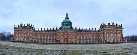 Neues Palais (The New Palace) in Sanssouci royal park in Potsdam, Germany