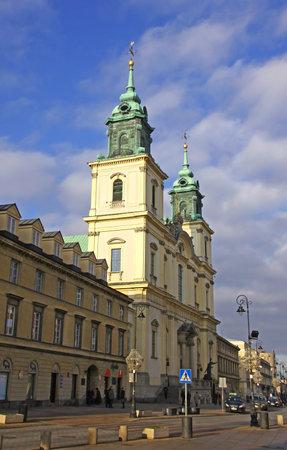 Church of the Holy Cross (Kosciol sw. Krzyza) in Warsaw, Poland