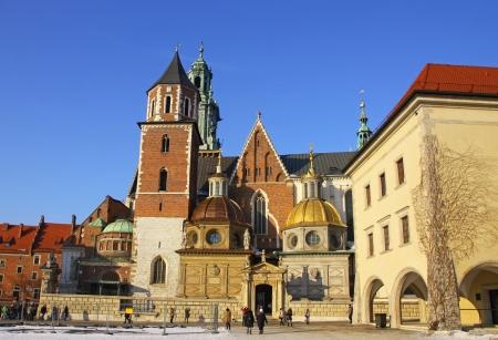 Wawel complex in Krakow, Poland