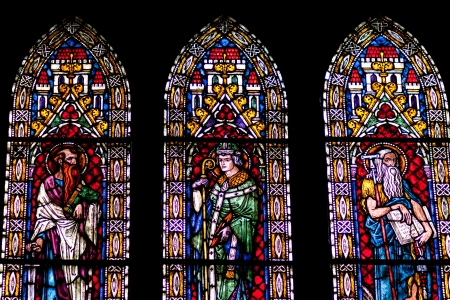 vetrate colorate: Vetrate della Cattedrale di Friburgo a Friburgo citt�, Germania