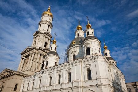 kharkov: Assumption or Dormition Cathedral in Kharkiv, Ukraine  It is the main Orthodox church of Kharkiv city