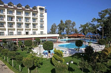 Five star Mediterranean resort hotel in Turkey