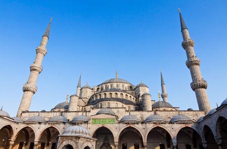 Blue Mosque (Sultanahmet Camii) in Istanbul, Turkey photo