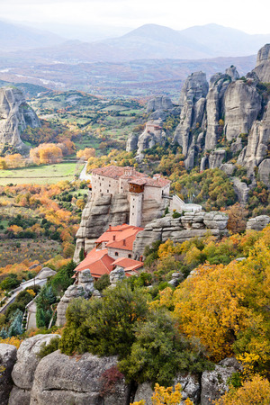 kalampaka: Roussanou Monastery and Meteora Rocks, Trikala region, Greece