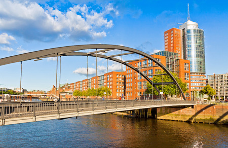 st pauli: Speicherstadt district in Hamburg, Germany. In July 2015 this largest warehouse district in the world
