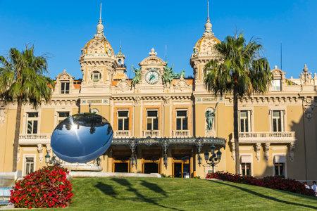 Facade view of Grand Casino de Monte Carlo, Monaco