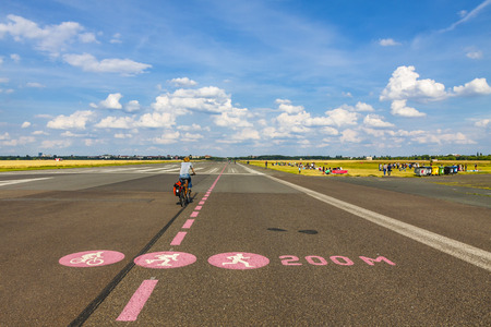 ceased: Berlin Tempelhof, former airport in Berlin city, Germany. Ceased operations in 2008 and now used as a recreational space known as Tempelhofer Feld