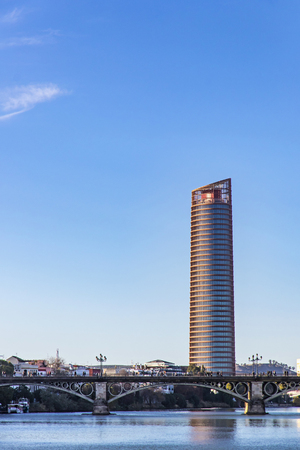 The Sevilla Tower (Spanish: Torre Sevilla) is an office skyscraper in Seville, Spain. With height of 180.5 metres it is tallest building in Seville city and Andalusia province
