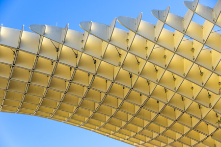 The Metropol Parasol (officially called Setas de Sevilla) is a structure in the shape of a pergola