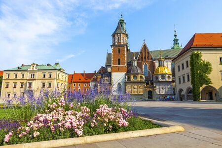 Wawel Cathedral or The Royal Archcathedral Basilica of Saints Stanislaus and Wenceslaus on the Wawel Hill