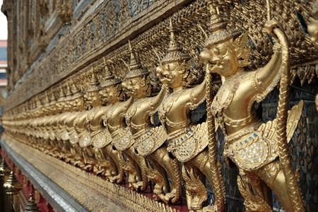 garuda: Gold Garuda Stock Photo