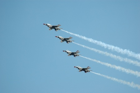 Coordinated Flight Jets in the Sky