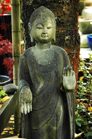 A stone statue of a spiritual deity Editöryel
