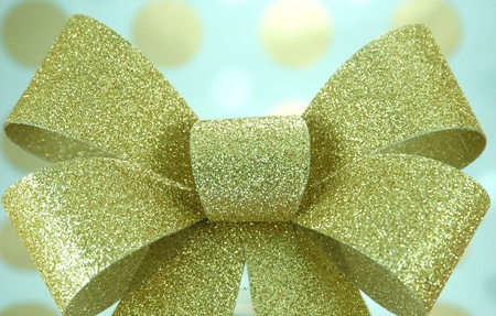 Golden Bow Stok Fotoğraf