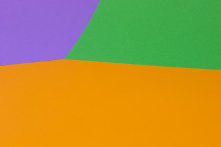 Bright orange green violet background