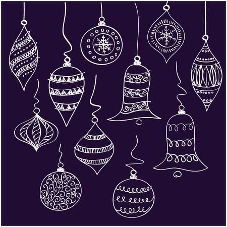 spherule: Christmas white bells