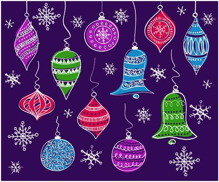 spherule: christmas bells Illustration