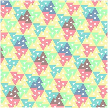 Colorful geometric pattern Ilustrace