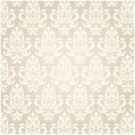 damask pattern Ilustrace