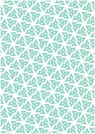 Blue geometric patter