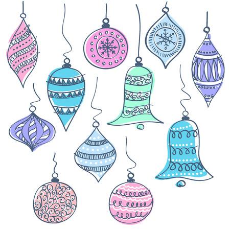 クリスマスの鐘ベクトル イラスト  イラスト・ベクター素材