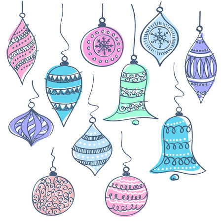 spherule: Christmas bells vector illustration Illustration