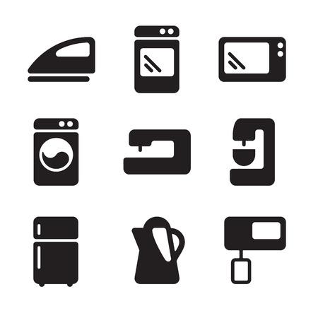 equipment: Vector icons equipment