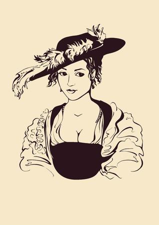 renaissance woman: young lady
