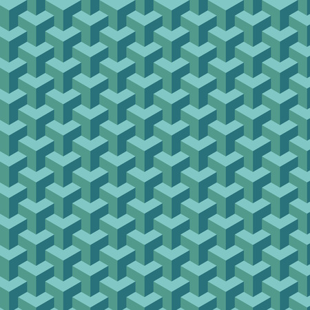 attern: Light blue geometric pattern