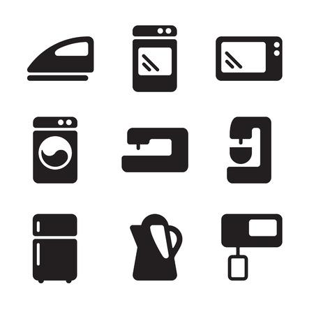 Vector icons equipment