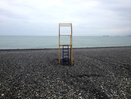 baywatch: Baywatch beach tower Batumi, Georgia