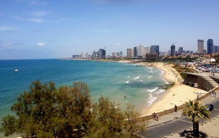 tel aviv: Tel Aviv from Jaffa, Israel